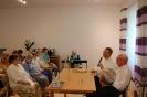 Spotkanie z księdzem Grzegorzem i księdzem Mirosławem