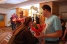 Hol w Domu Nadziei, Uczestnicy i Pracownicy WTZ składają s. Pii życzenia