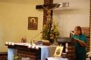 Kaplica w Domu Nadziei, Msza Święta, czyta Pani Barbara