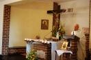 Kaplica w Domu Nadziei, Msza Święta, słowo Boże głosi ks. Edward