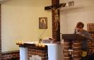 Kaplica w Domu Nadziei, Msza Święta, czyta Pani Mariola