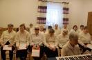 Sala muzykoterapii, Aktorzy Amatorskiego Teatru im. Karola Wojtyły w oczekiwaniu na występ