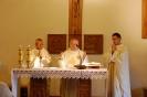 Nałęczów, Msza Święta w Kaplicy Domu Rekolekcyjnego,  Księża przy ołtarzu