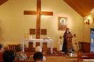 Nałęczów, Msza Święta w Kaplicy Domu Rekolekcyjnego, śpiewa s. Pia