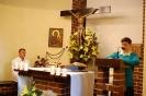 Kaplica w Domu Nadziei, Msza Święta, czyta Pani Ewa