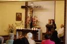 Kaplica w Domu Nadziei, Msza Święta, czyta s. Iwona