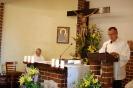 Kaplica w Domu Nadziei, Msza Święta, czyta p. Piotr