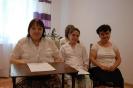 Sala muzykoterapii w Soli Deo, p. Barbara, p. Ewelina i p. Katarzyna przed występem
